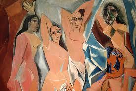 Spanish Masterworks Pablo Picasso Les Demoiselles D Avignon 1907
